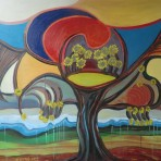 Il grande albero fiorito