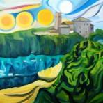 Il sole a Montevettolini